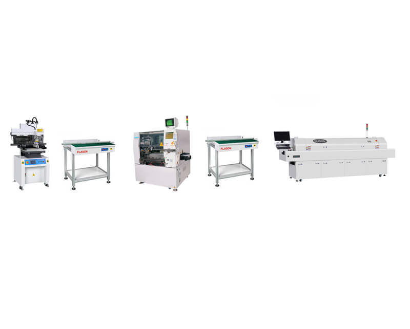 Low Speed Automatic SMT Production Line Cheap Solutions
