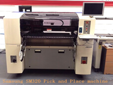 Samsung SM320 Pick and Place Machine