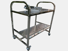 Siemens pneumatic Feeder Storage Cart Feeder Trolley