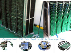 PCB Storage Cart for SMT Workshop